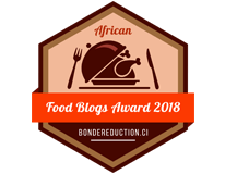 Banners for African Food Blogs Award 2018